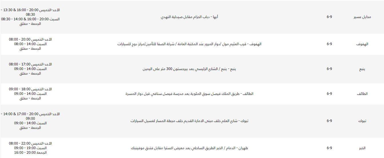 مناطق شحن namshi في السعودية